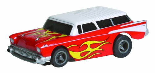Life Like Chevy Nomad Red and White Slot Car