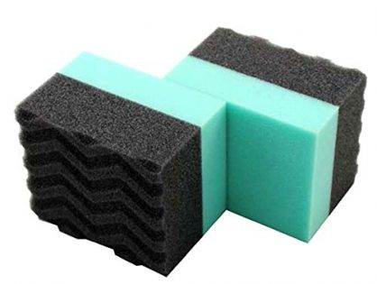 Chemical Guys ACC_3002 Durafoam Contoured Large Tire Dressing Applicator Pad Pack of 2