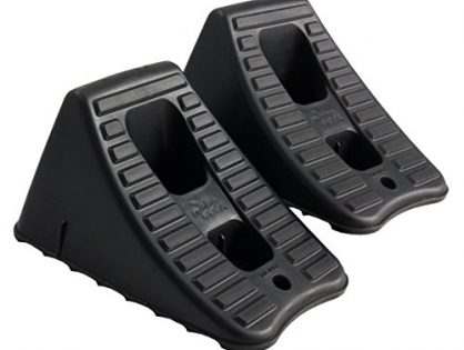 FloTool 11930MI Heavy Duty Wheel Chocks, Set of 2