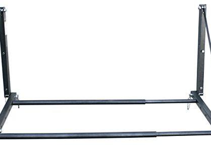 300 lb. Capacity Foldable and Adjustable Wall Mount Tire Rack - MaxxHaul 70489