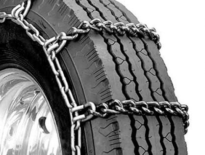 Set of 2 - Security Chain Company QG2439 Quik Grip Truck Mud Service Tire Traction Chain