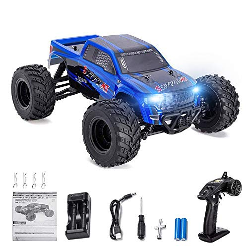 Distianert 1:12 Scale 4WD RTR Rock Crawler Electric RC Car with 2 4