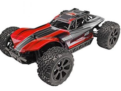 Redcat Racing Blackout XBE Pro Brushless Electric Buggy with Waterproof Electronics Vehicle 1/10 Scale, Red