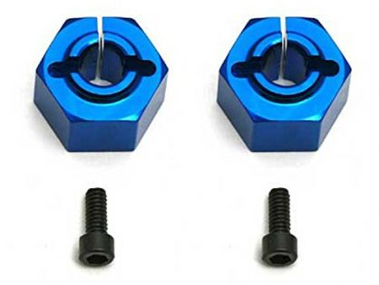 Team Associated 9892 12mm Aluminum Clamping Wheel Hex, Rear