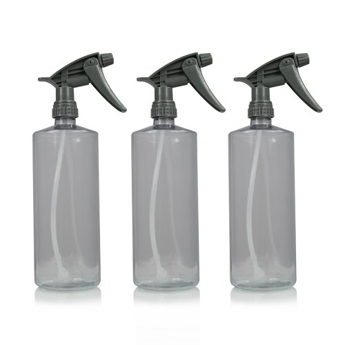 Chemical Guys Acc_121.16HD3 Acc_121.16HD-3PK Chemical Resistant Heavy Duty Bottle and Sprayer 16 oz Pack of 3