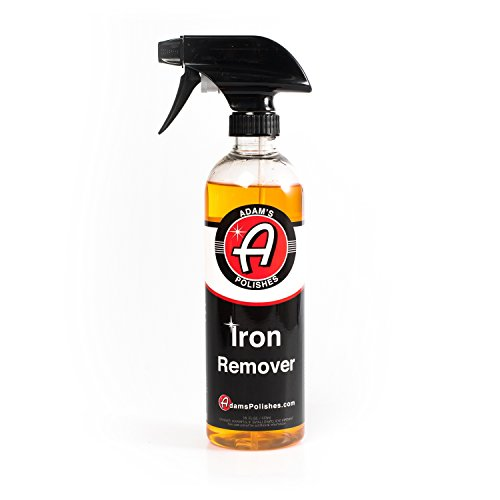 Changes Color to Purple as it Works 16 oz - Adam's Iron Remover - Dissolves Iron Particles Embedded into Paint Surfaces
