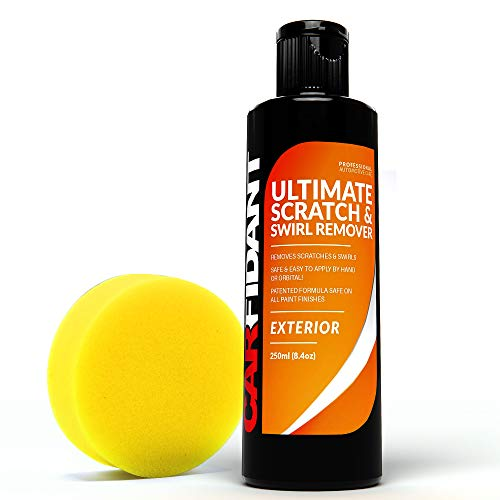 Polish & Paint Restorer - Carfidant Scratch and Swirl Remover - Easily Repair Paint Scratches, Scratches, Water Spots! Car Buffer Kit - Ultimate Car Scratch Remover