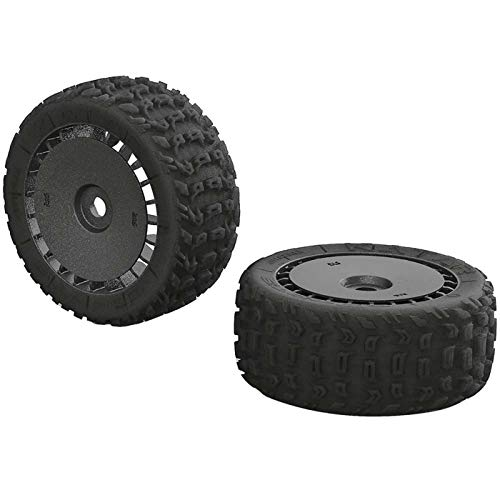 ARRMA Katar T 6S Tire Wheel Set: Talion 2, Arac9615