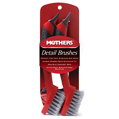 2 Pack - Mothers Detail Brush Set