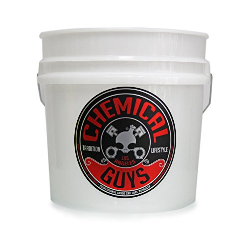 Chemical Guys Acc_103 Heavy Duty Detailing Bucket Logo 4.5 Gal