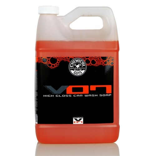 Chemical Guys CWS_808 Hybrid V7 Optical Select High Suds Car Wash Soap 1 Gal