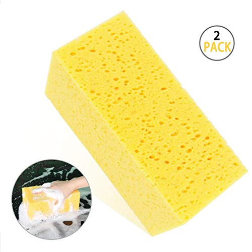 Airpro Car Wash Sponge Extra Large Size Washing Cellulous Microfiber Super Absorbent Multi-Use Cleaning Sponge