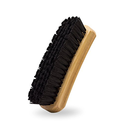 Adam's Cockpit Brush - Durable Premium Quality Nylon Bristles Full-Size - Designed to Deep Clean Carpet & Upholstery, Leather Interior Without Harming Your Interior Surfaces