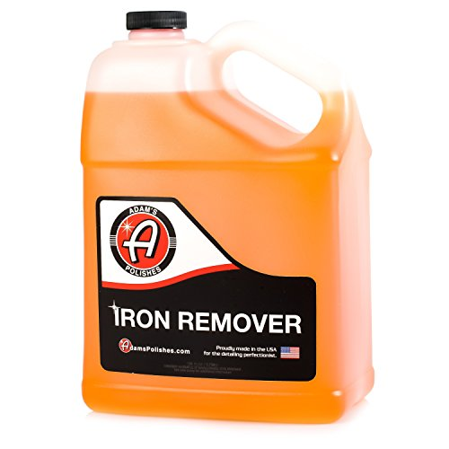 Adam's Iron Remover - Dissolves Iron Particles Embedded into Paint Surfaces - Changes Color to Purple as it Works 1 Gallon