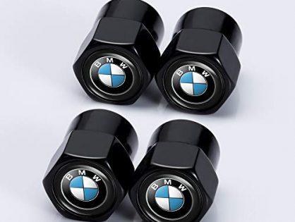 Kaolele 4 Pcs Metal Car Wheel Tire Valve Stem Caps for BMW X1 X3 M3 M5 X1 X5 X6 Z4 3 5 7Series Styling Decoration Accessories ...