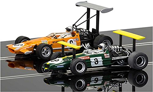 Scalextric C3589A McLaren M7C & Brabham BT26A Legends Limited Edition Twin Pack Slot Cars 1:32 Scale