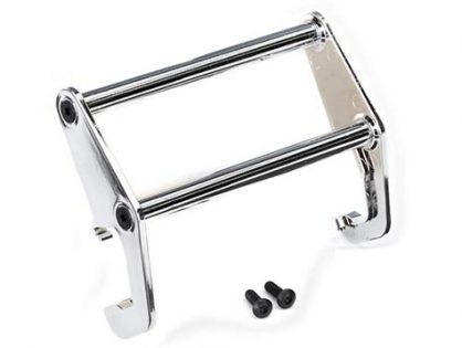 Traxxas 8066 Bumper Push Bar, Chrome