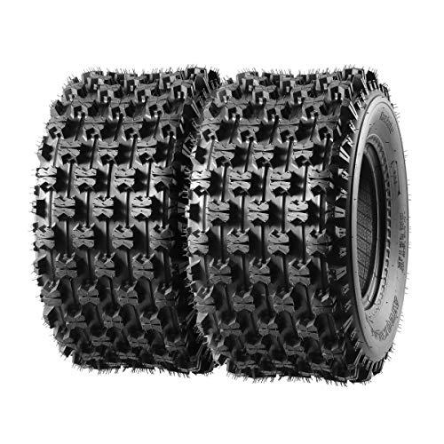 ATV Sport Quad Tires 2 Rear 20X10-9 20 10 9 20x10x9 4Ply Replacement for Yamaha Raptor Banshee/Honda 400ex 450r 660 700 400 450 350 250