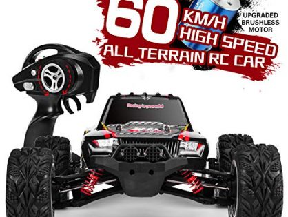 INGQU 1:12 Scale High Speed 60km/h 4WD Off-Road RC Car 2.4Ghz Brushless Remote Control Monster Truck