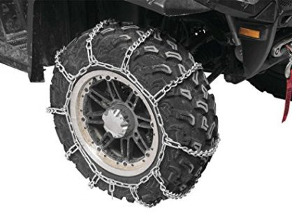 2007-2008 Yamaha 700 Grizzly - Tire Size 25x8x12 - Front Snow Chains 2 Chains