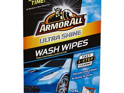 Armor All Ultra Shine Car Wash Wipes 12 count, 18240
