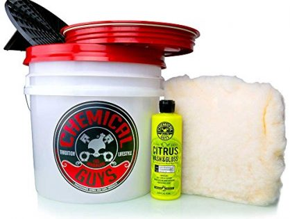 Chemical Guys Acc_101 Detailing Bucket Kit 5 Items