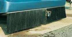 """Industrial Brush 3006154 Splash Stop 16"""" Brush Shield"""