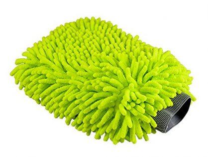 Chemical Guys MIC_493 Chenille Microfiber Premium Scratch-Free Wash Mitt, Lime Green
