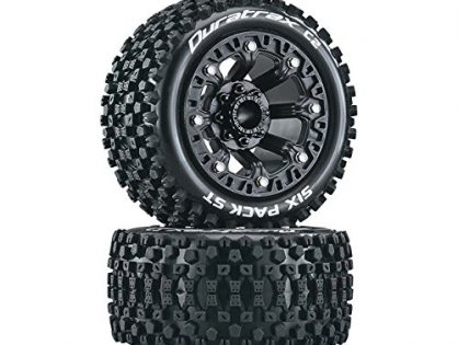 Duratrax Six Pack ST 2.2 Tires, Black 2, DTXC5103