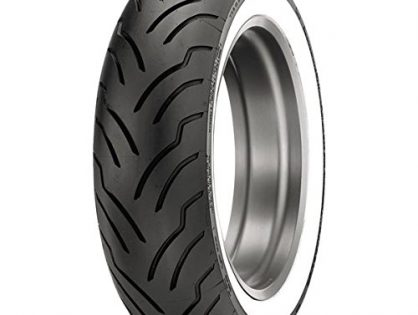 Dunlop American Elite Whitewall Rear Tire Wide Whitewall / MU85B16