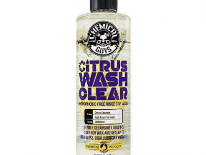 Chemical Guys CWS30316 Car Citrus Wash Clear Hydrophobic Free Rinse, 16. Fluid_Ounces