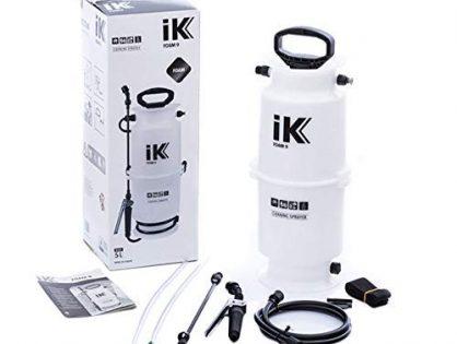 iK Foam 9 Large Pump Sprayer | 1.3 Gallon | Professional Auto Detailing; Dry/Wet Foam Spray