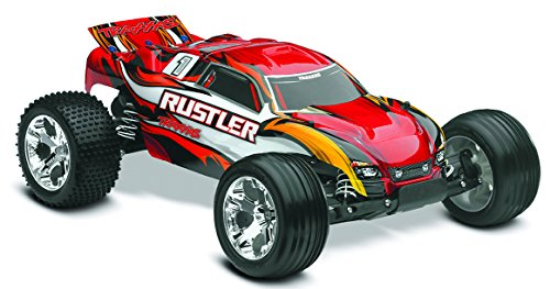 Traxxas 37054-1 Rustler: Stadium Truck, Ready-To-Race 1/10 Scale, Colors May Vary
