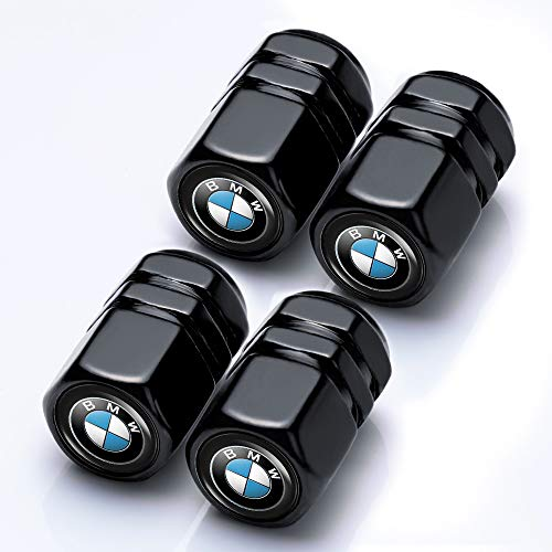 Goshion 4 Pcs Metal Car Wheel Tire Valve Stem Caps for BMW X1 X3 M3 M5 X1 X5 X6 Z4 3 5 7Series Styling Decoration Accessories ...