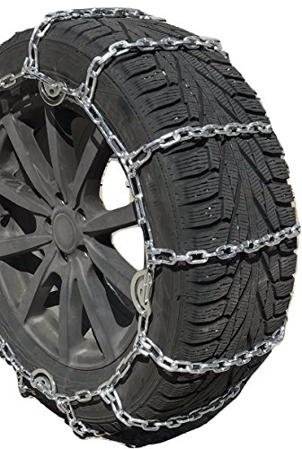 TireChain.com 265/75R-16, 265/75-16 LT 5.5mm Square Tire Chains, One Pair.