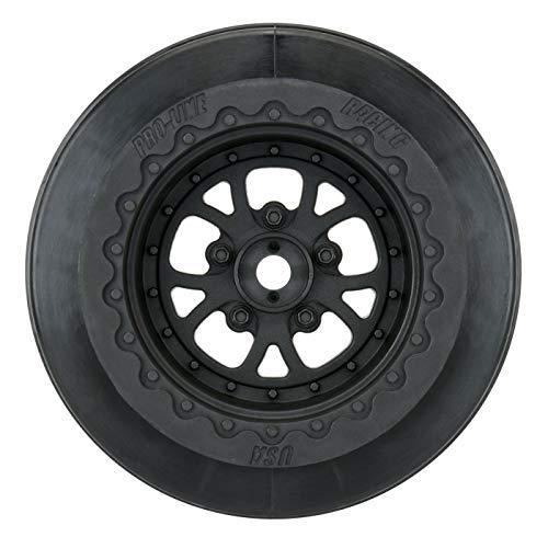 "Pro-line Racing Pomona Drag Spec 2.2 3.0"", Black: Slash 2WD Rear, 4x4 F/R, PRO277603"