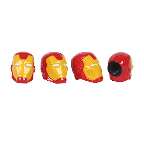 Pilot MVL-0301 Marvel Iron Man Valve Caps