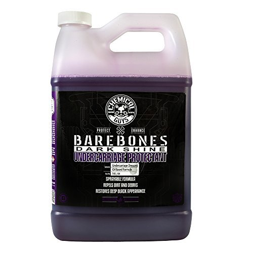 Chemical Guys TVD_104 Bare Bones Premium Dark Shine Spray for Undercarriage, Tires and Trim 1 Gal