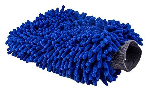 Relentless Drive Ultimate Car Wash Mitt - Premium Chenille Microfiber Wash Mitt - Wash Glove - Extra Large Size - Lint Free - Scratch Free