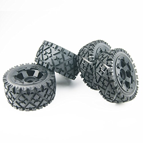 Front Rear All Terrain Tire Wheel for 1/5 HPI ROVAN KingMotor KM BAJA 5B SS