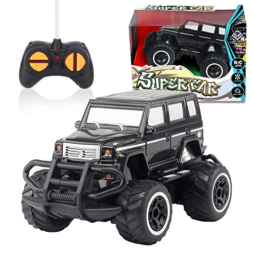 Popular Toy for 3-8 Years Olds Boys, Remote Control Car for Kids RC Vehicle Remote Control Car Benz Toy Gifts for 4-12 Years Old Boys-Girls Birthday Gifts for Boys Age 3-9 Black
