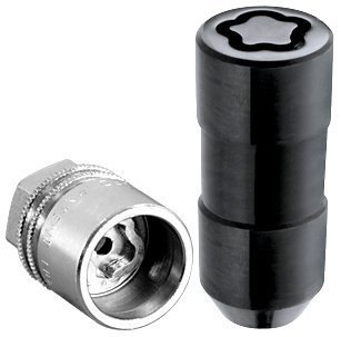 McGard 24220 Black Cone Seat Wheel Locks M14 x 1.5 Thread Size - Set of 4