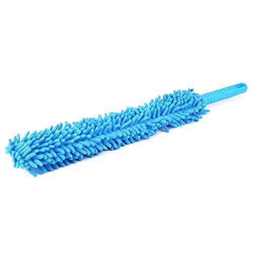 Aramox Wheel Cleaning Brush, Microfiber Car Cleaning Brush Long Soft Flexible Wheel Wash Cleaner Tool, 16.8inch