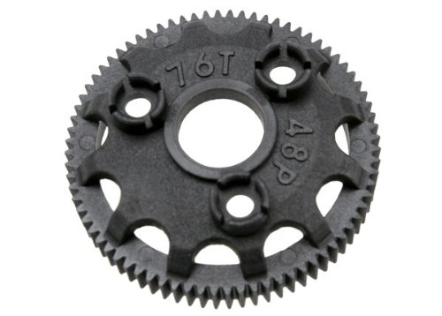 Traxxas 4676 Spur gear, 76-tooth 48-pitch for models with Torque-Control slipper clutch