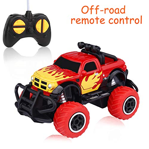 Car Toy for Boys 3-10 Years Old, RC Off-Road Vehicle for Girls 3-12 Years Old Boys Control Remote Car Mini RC Car for Toddlers Best Presents for 3-12 Years Old Kids Birthday Gift Pickup Blue