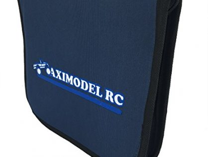AximodelRC RC Car Tool Bag. for 1/18, 1/16, 1/10, 1/8 RC Cars On/ Off Road. for Drift, Touring, Monster Truck, Short Course Models. Universal RC Tool Bag.