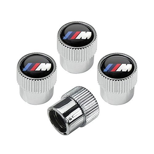 hongyangfumeilai HYFML for BMW M Logo zinc Alloy Plating Chrome Tire Stem Valve Caps