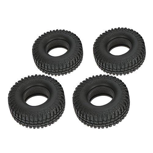 "Goolsky 4Pcs Austar 1.9"" 100mm 1/10 Scale Tires for 1/10 RC4WD D90 Axial SCX10 RC Rock Crawler"