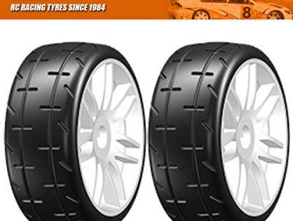 GRP GT Treaded Tires 4 on new rims S4 SOFT/MEDIUM Compound