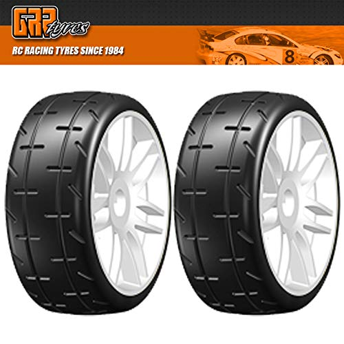 GRP GT Treaded Tires 4 on new rims S4 SOFT/MEDIUM Compound